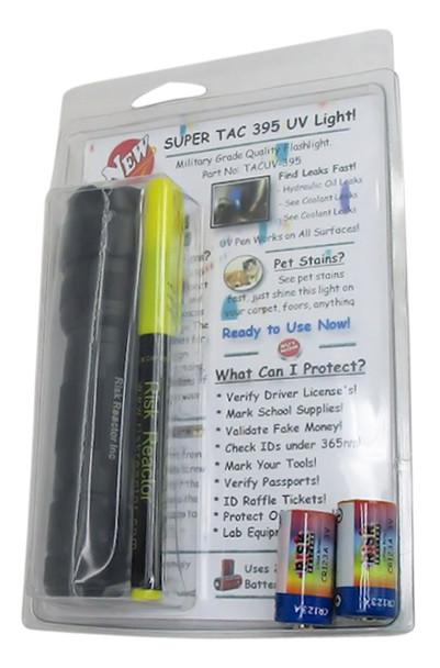 SUPERTAC-395 Quality UV Black Light Flashlight Batteries Included