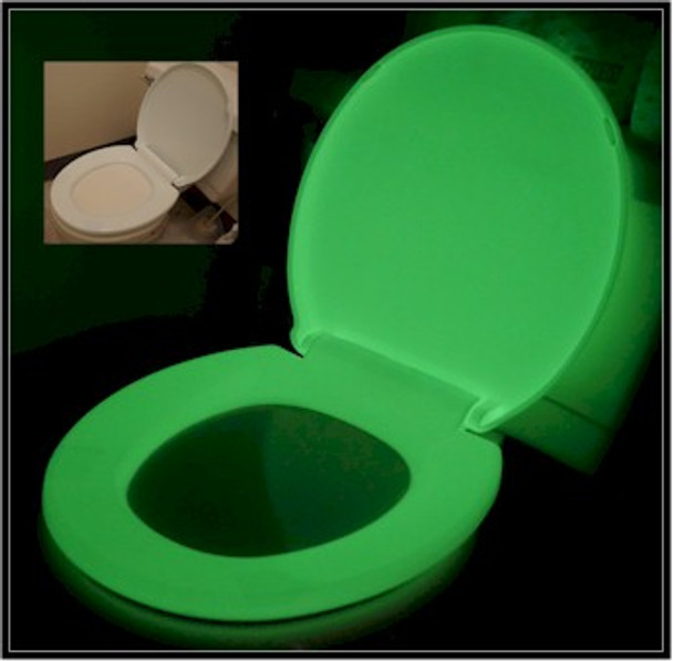GLOWSEAT-RG is an anti microbial and fragrant glowing toilet seats for the young and old alike.