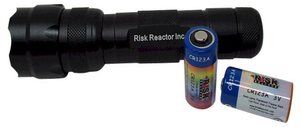 ZOOMTAC-365 tactical grade quality black light that can change the focus from flood to a spot
