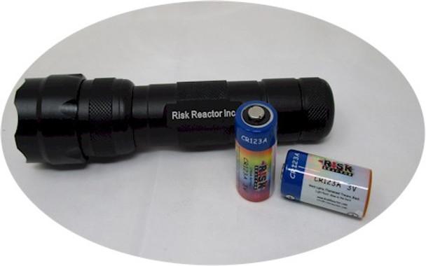 Zoom-able lens UV black light part number ZOOMTAC-395