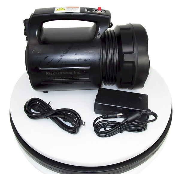 Very strong UV light source for UV curing and non destructive testing in many black light related industries
