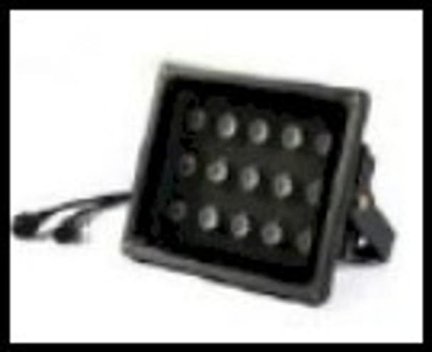 Black light floodlight using 365 NM ultraviolet energy for UV curing
