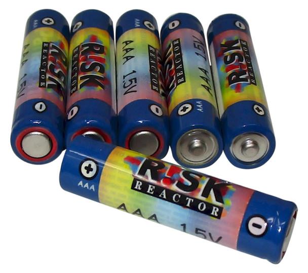 Triple AAA Batteries 6 Pack Black Light Flashlight Power Cells BATAAA-6PK