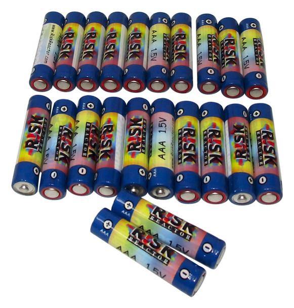 BATAAA-20PK Pack of 20 AAA Long Life UV Fluroescent Light Batteries