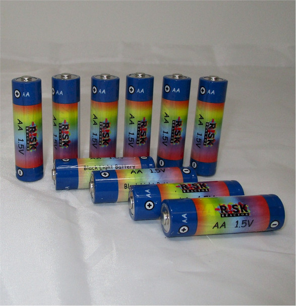 BATAA-10PK Pack of 10 AA Long Life Batteries for UV Lights