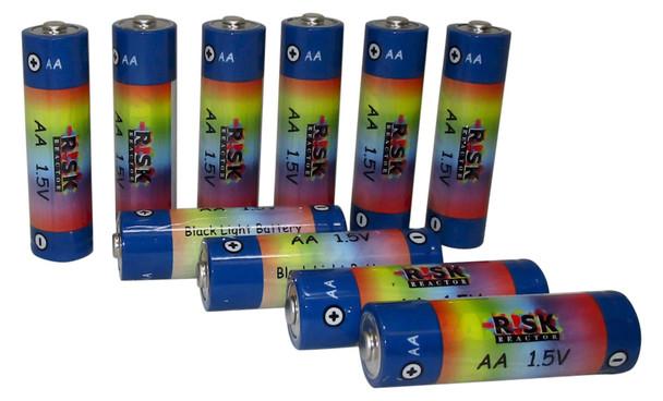 Pack of ten double AA batteries for UV crime scene tools BATAA-10PK