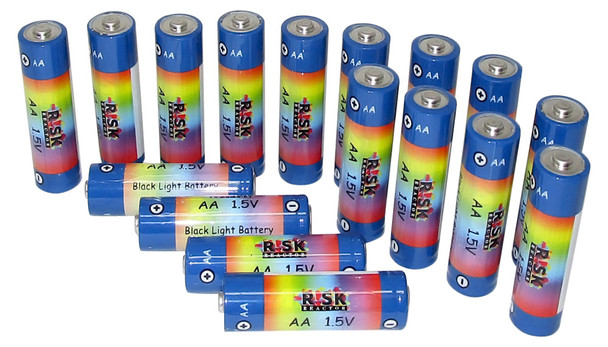 Twenty Bag of AA UV Cheap Batteries BATAA-20PK