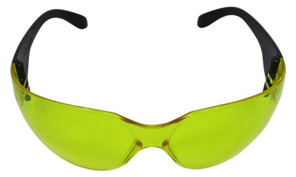 UVSPORT-Y black light safety glasses that also enhance 395 nm UV light
