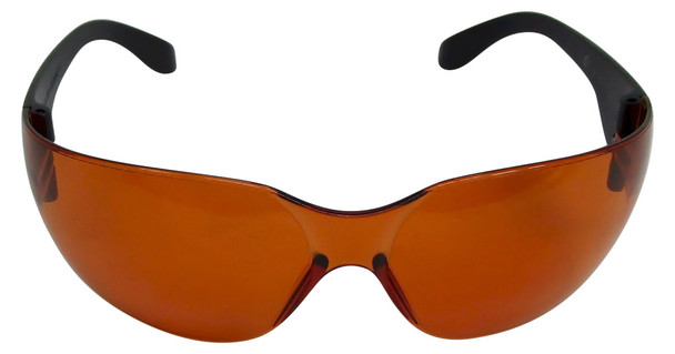 UVSPORT-O black light safety goggles with orange lens at wholesale prices
