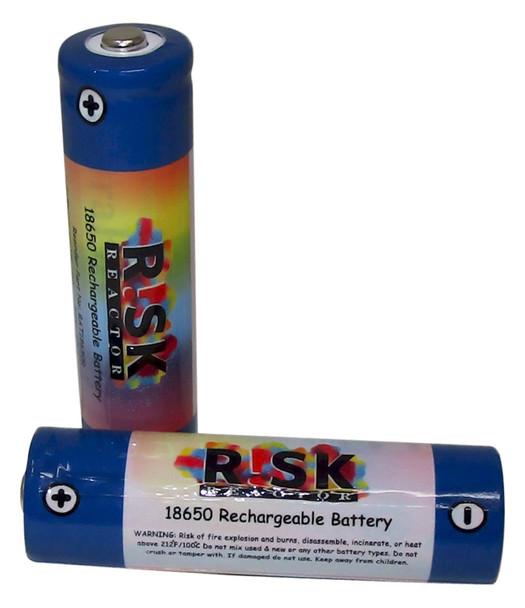 BAT18650X2 Pack of Two x 18650 Recharable UV Batteries Long Lasting