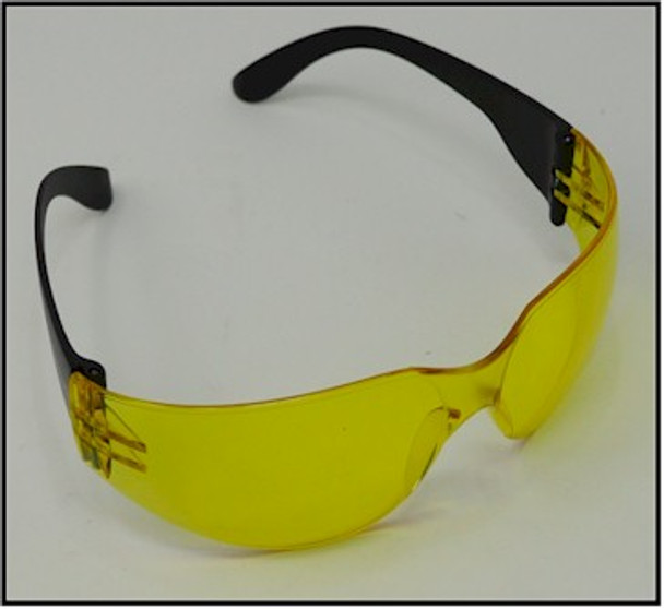 UVSPORT-YBOX24 UV light safety glasses using amber lens