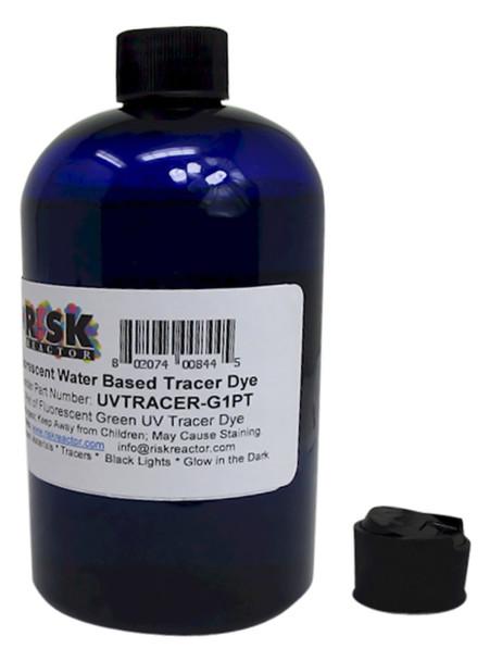 UVTRACER-G1PT pint of black-lite Green Leak Dye for Water Based UV Applications