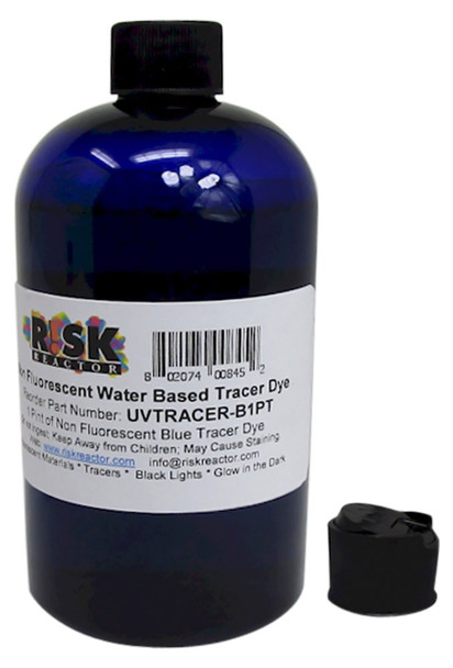 UVTRACER-B1PT pint of UV blue Water Based Tracer Concentrate
