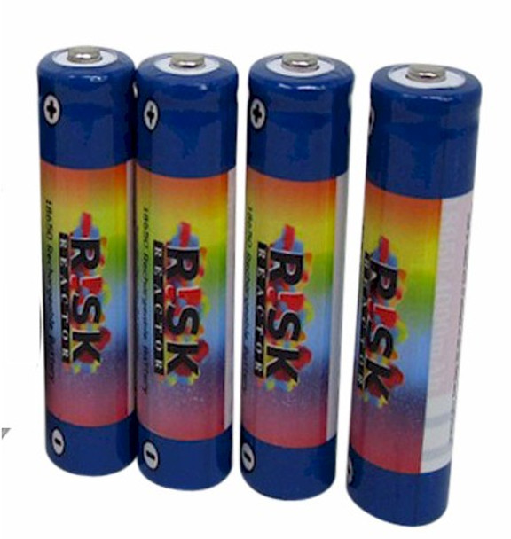 Pack of four AA UV batteries BATAA-4PK for our BNB001, and BNB4W black-lite flashlights