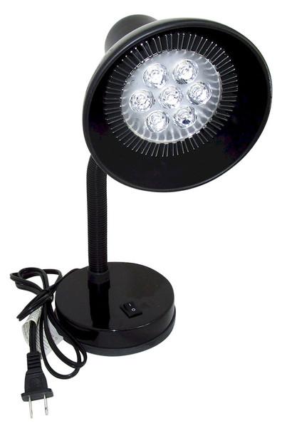 DESK7W395 Seven Watt Black Light Lamp Emitting 395 NM Energy