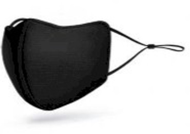 Black silver nano technology used as an antibacterial protective washable mask