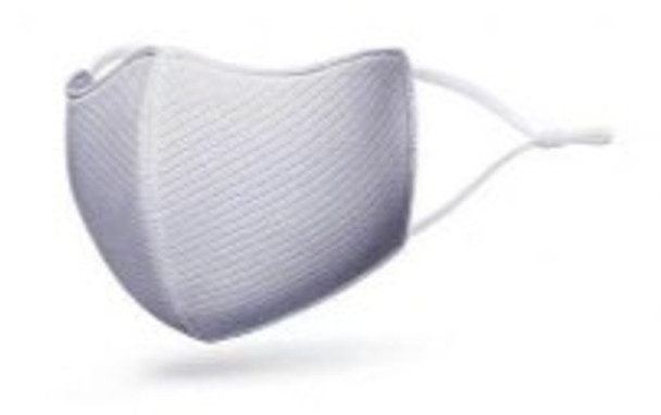 AGMASK-G Grey Reuseable Nano Silver Antibacterial Protective Washable Mask