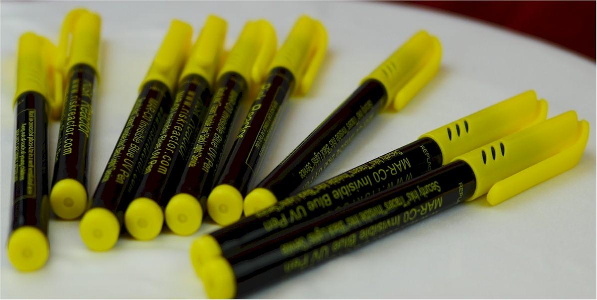 Invisible Black Light UV Marking Pens
