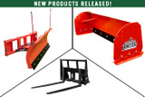 New Front-End Quick-Attach Implements - Snow Equipment & Pallet Forks