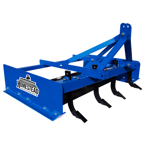 Pinnacle Series Land Plane Blue, Angle View