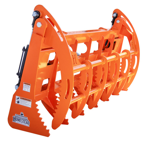 Independence Series Grapple for Sub-Compact Tractors, Front Angle View