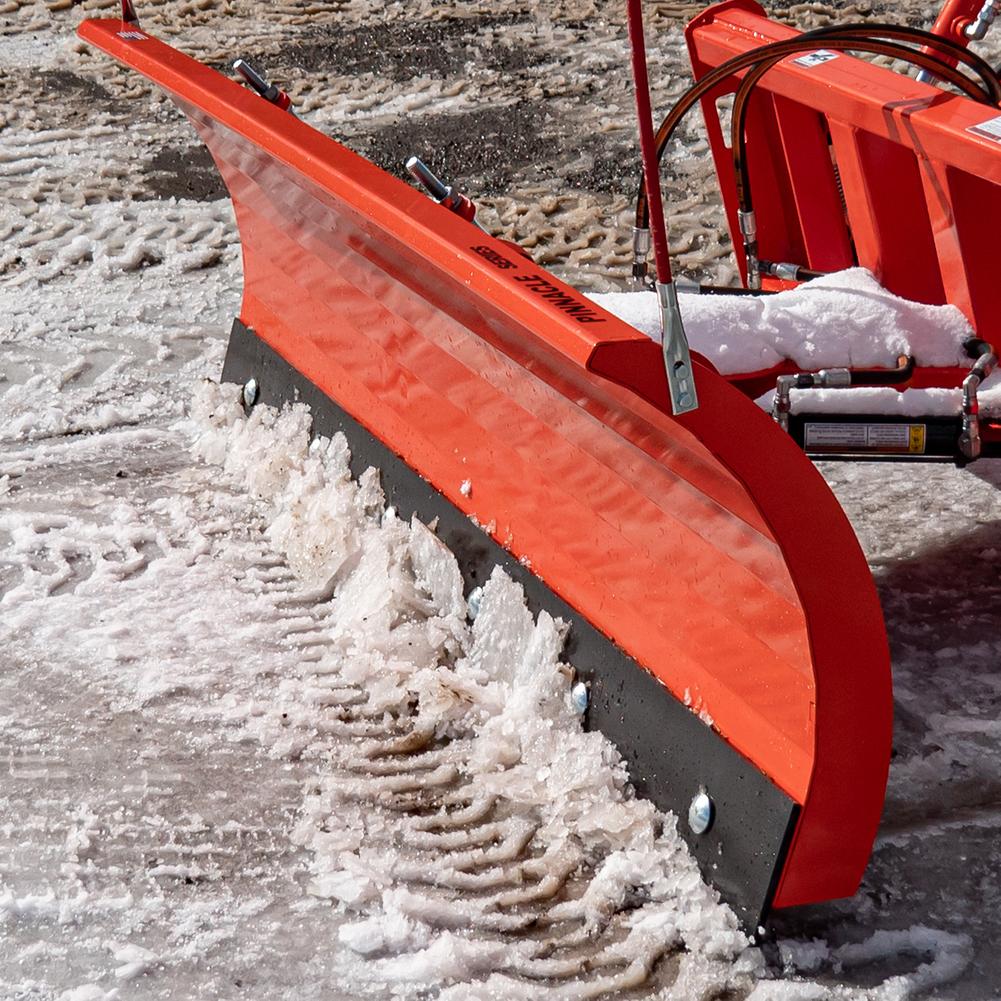 Pinnacle Series Snow Plow, Hydraulic, Moving Snow