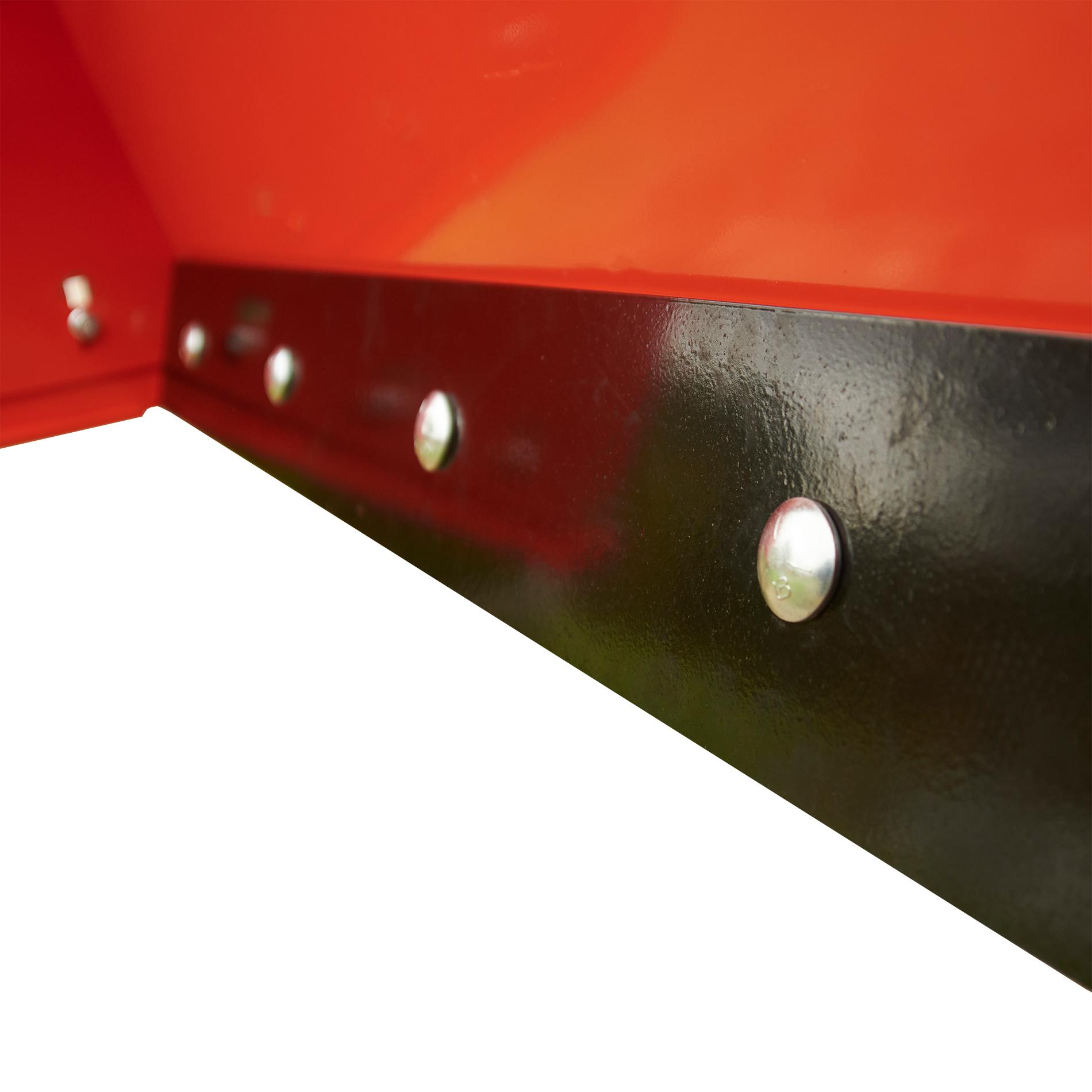 Pinnacle Series Snow Pusher, AR450 Hardox Scrape Blade