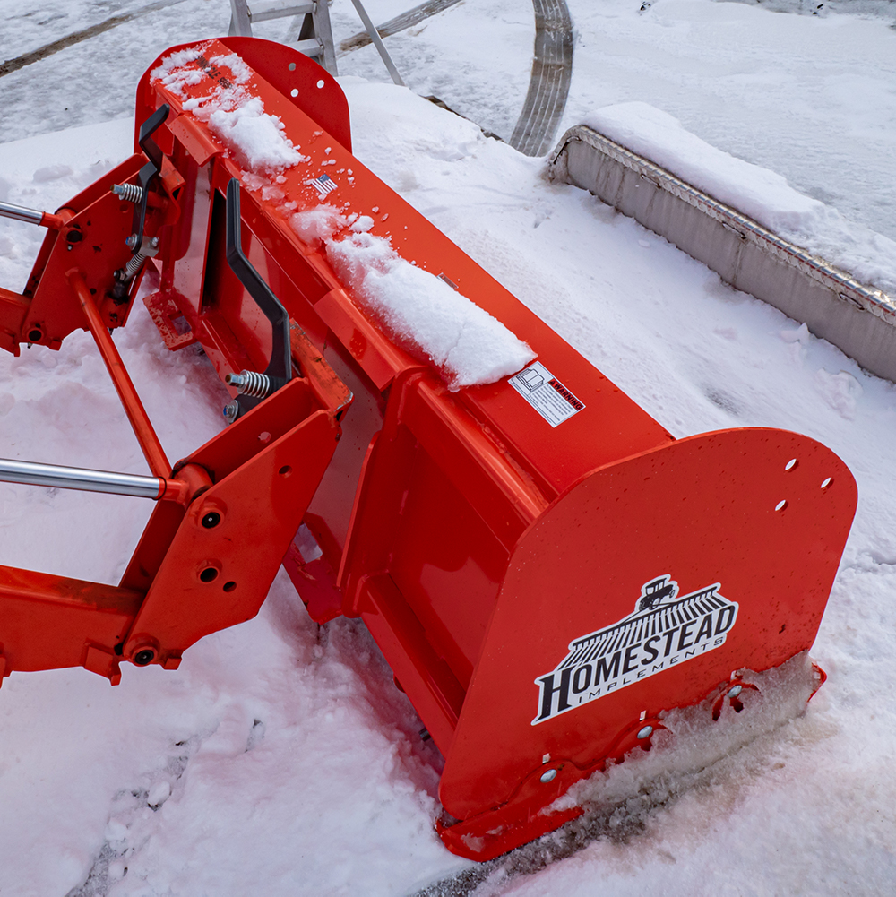 Pinnacle Series Snow Pusher, Universal Quick-Attach Compatibility