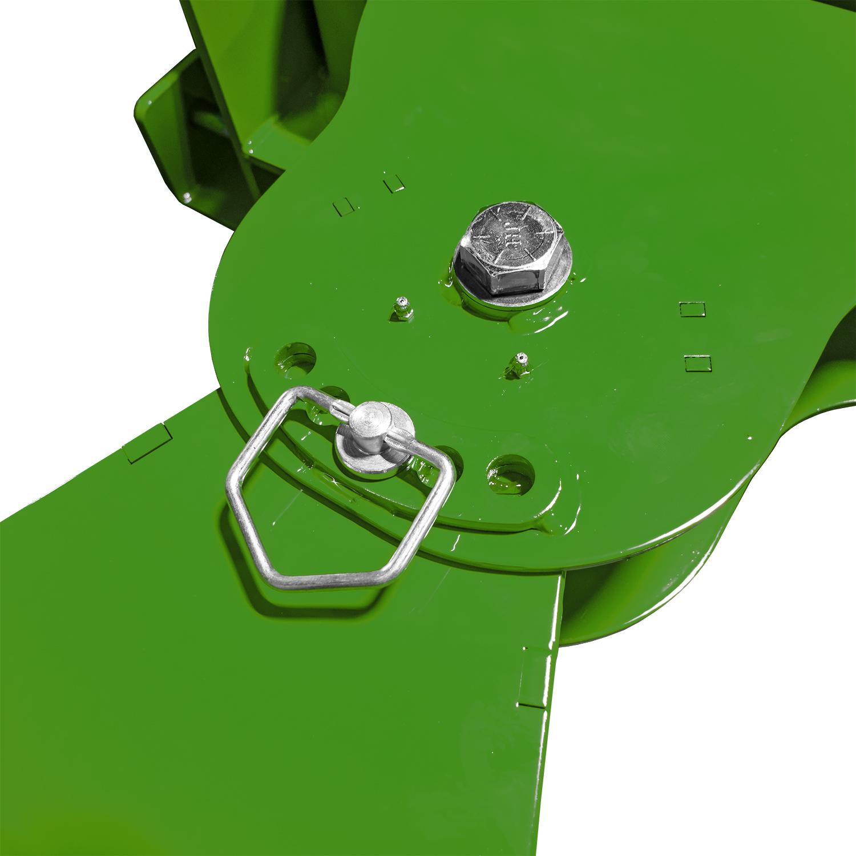 Manual Snow Plow for John Deere, Pivot Point Adjustment
