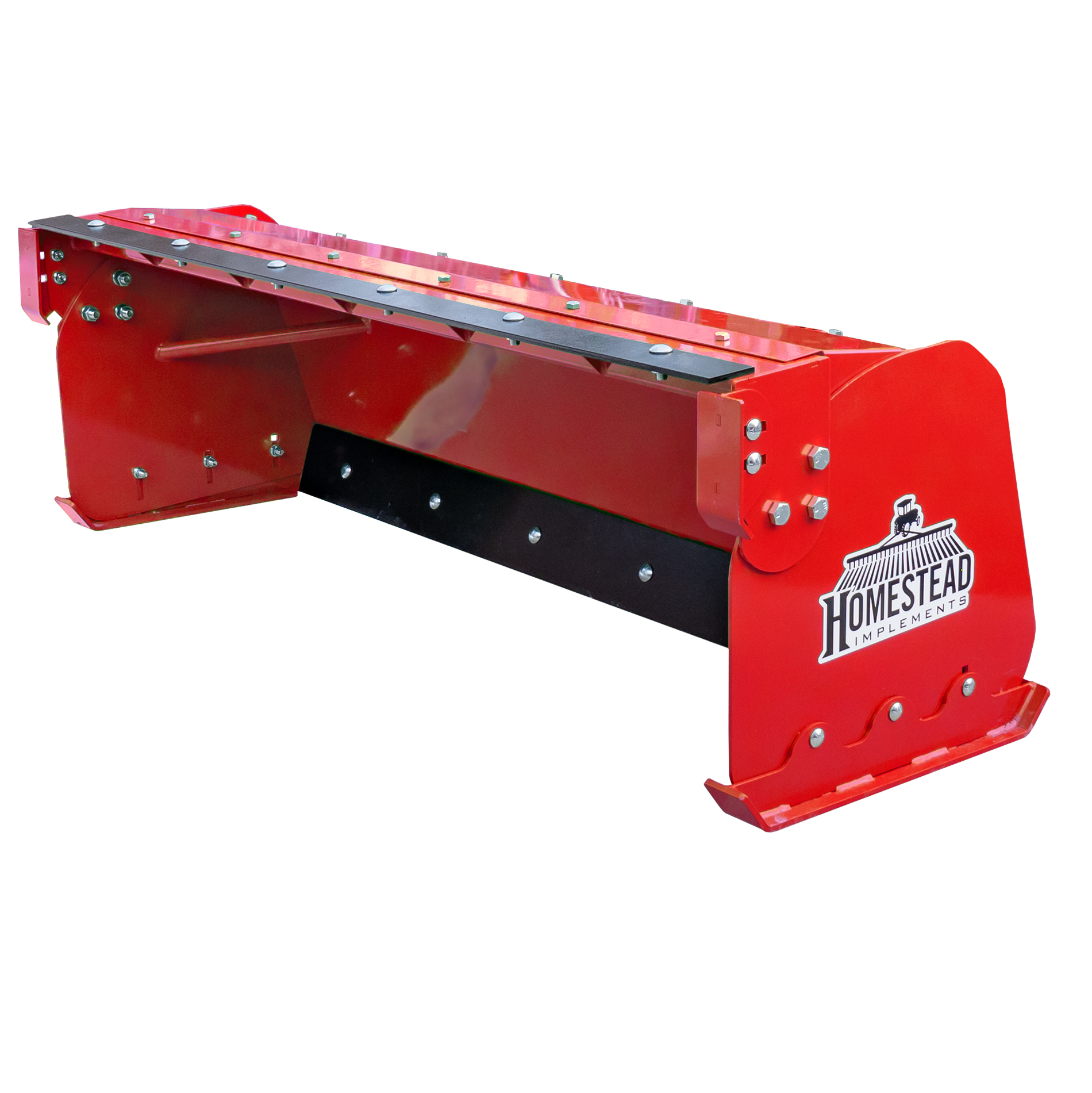 Pinnacle Series Snow Pusher, Added Support Braces