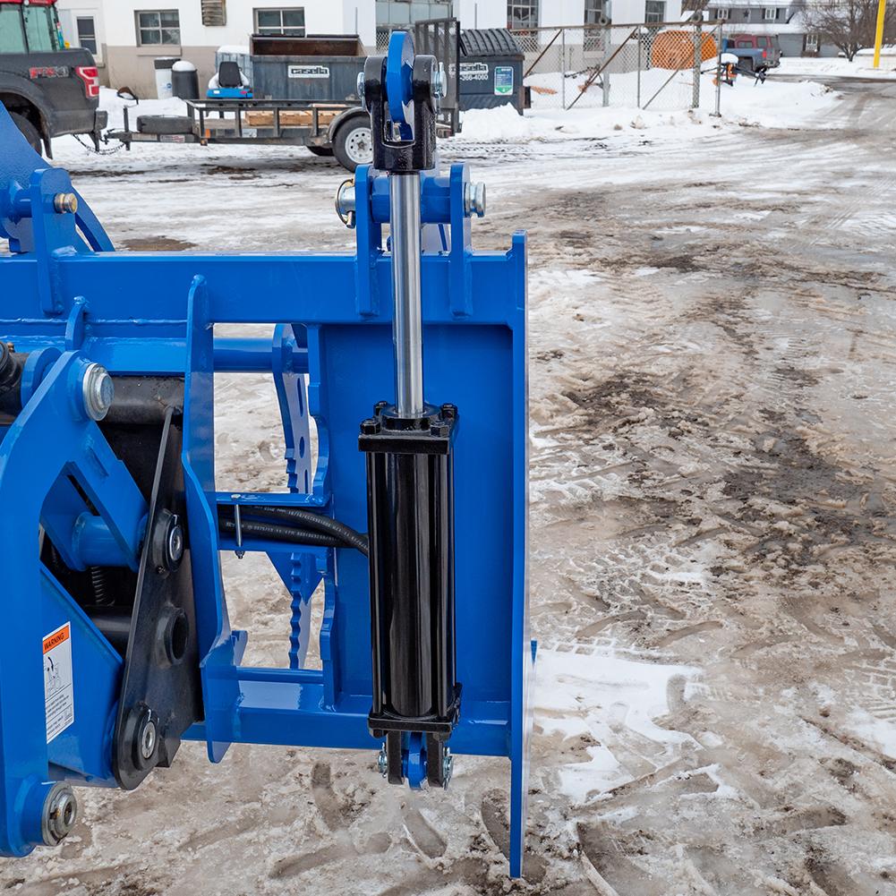 """3"""" x 10"""" Hydraulic Cylinders, Blue"""
