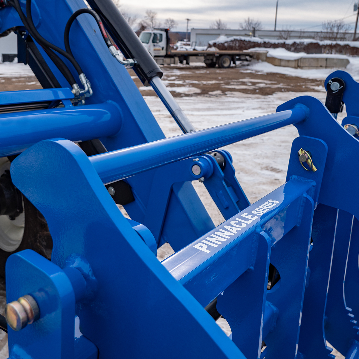 Extra Support Bar, Blue, Heavy-Duty Grapple