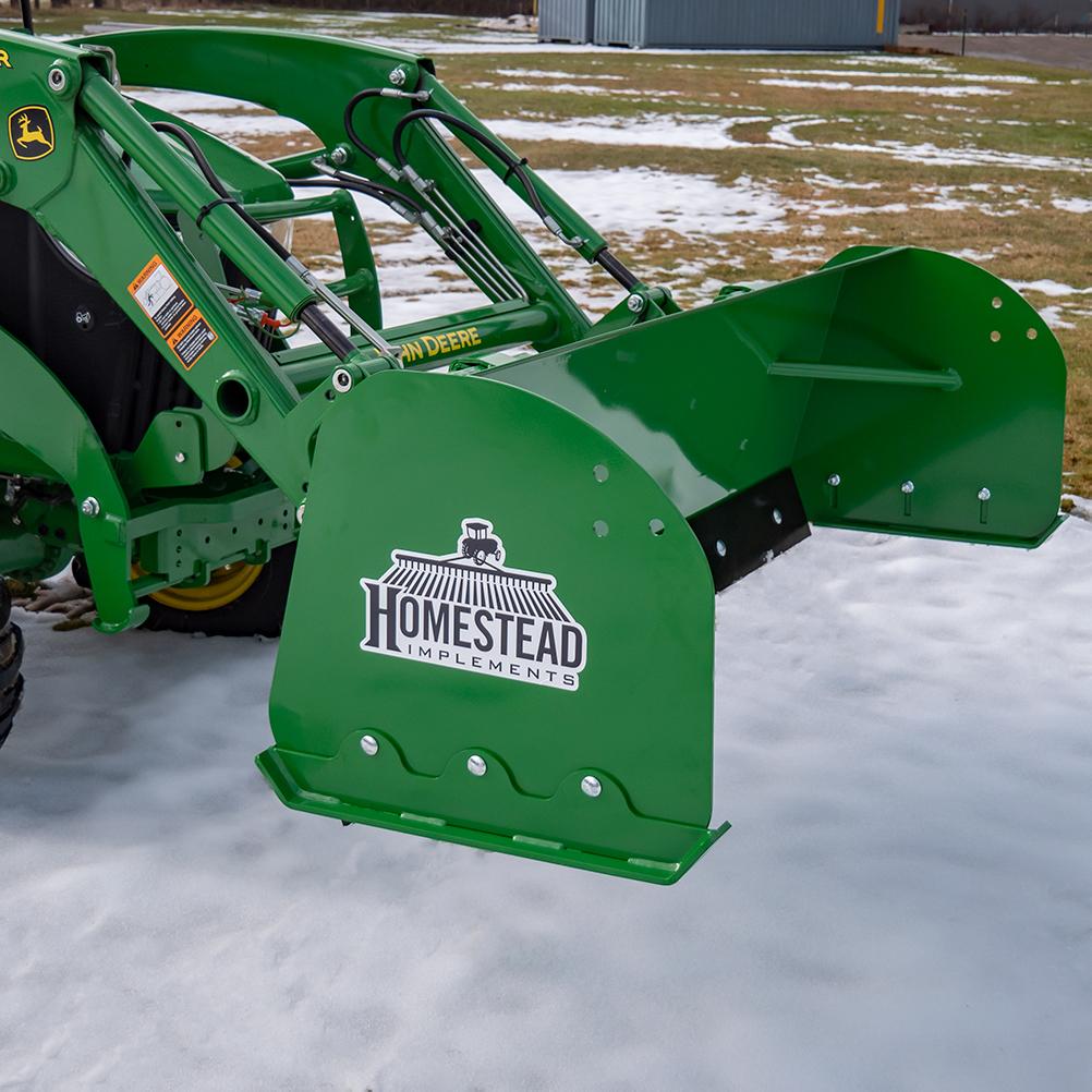 John Deere Compatible Snow Puseher