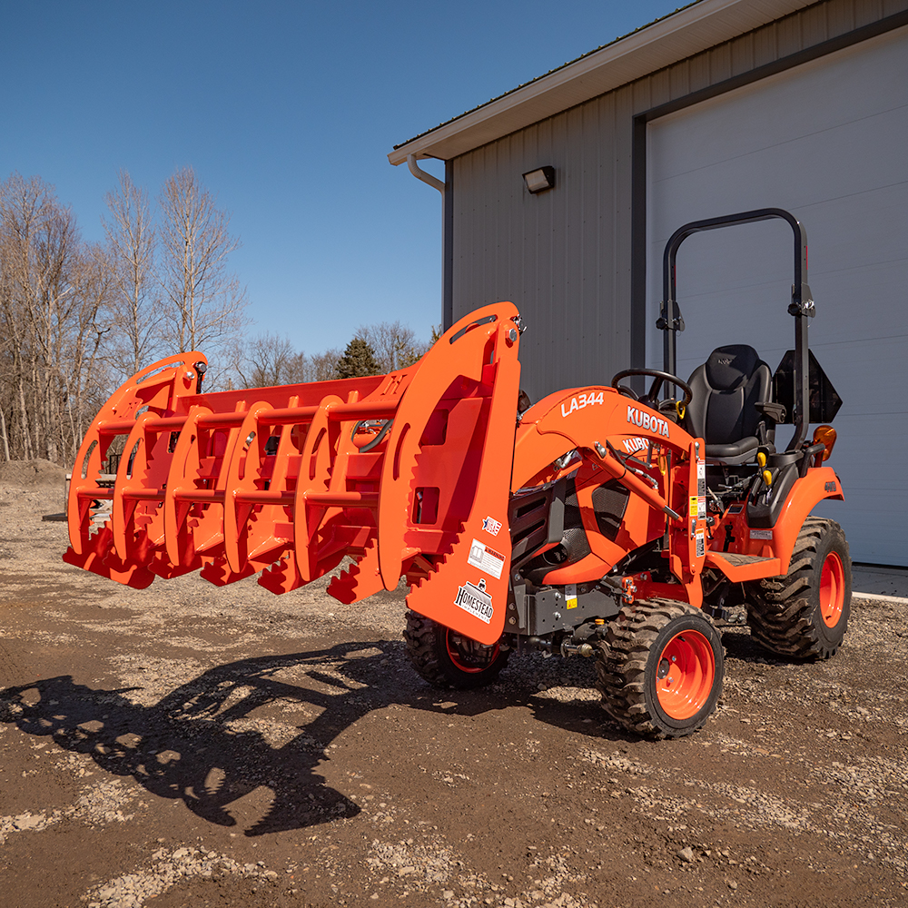Independence Series Grapple for Sub-Compact Tractors