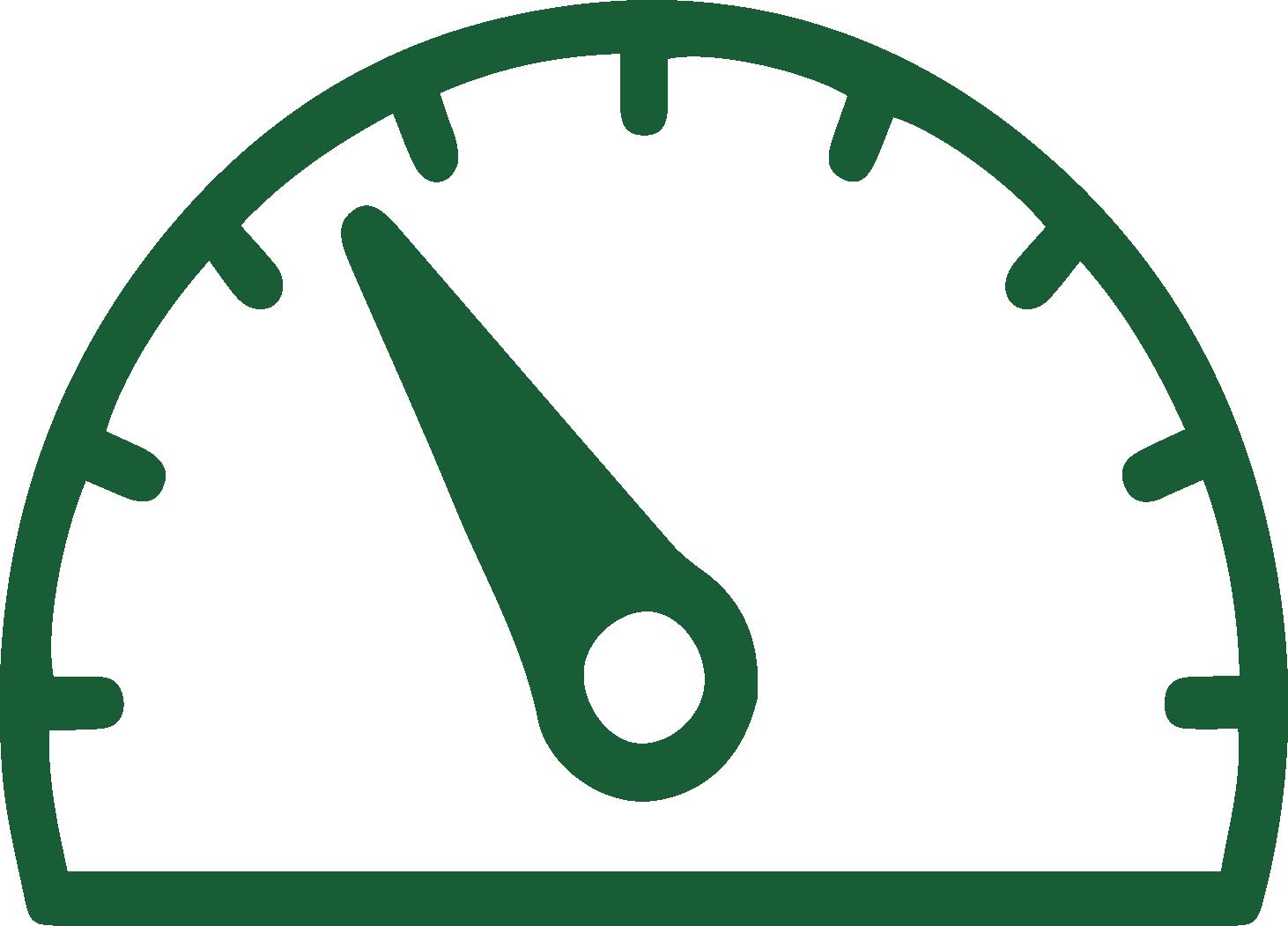 Maximum 2500 PSI Hydraulic System Pressure