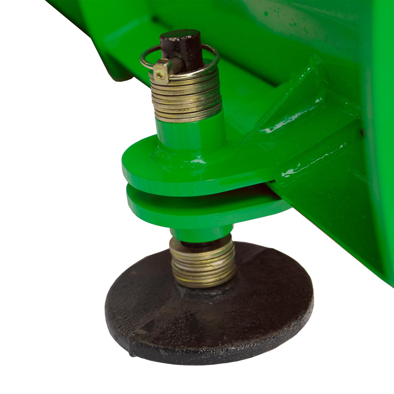 Manual Snow Plow for John Deere, Adjustable Skid Shoes