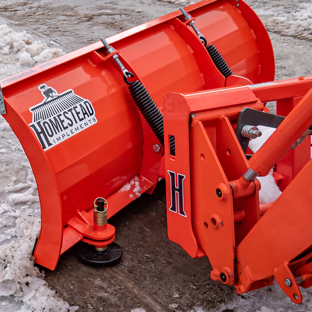 Manual Snow Plow, Universal Quick-Attach