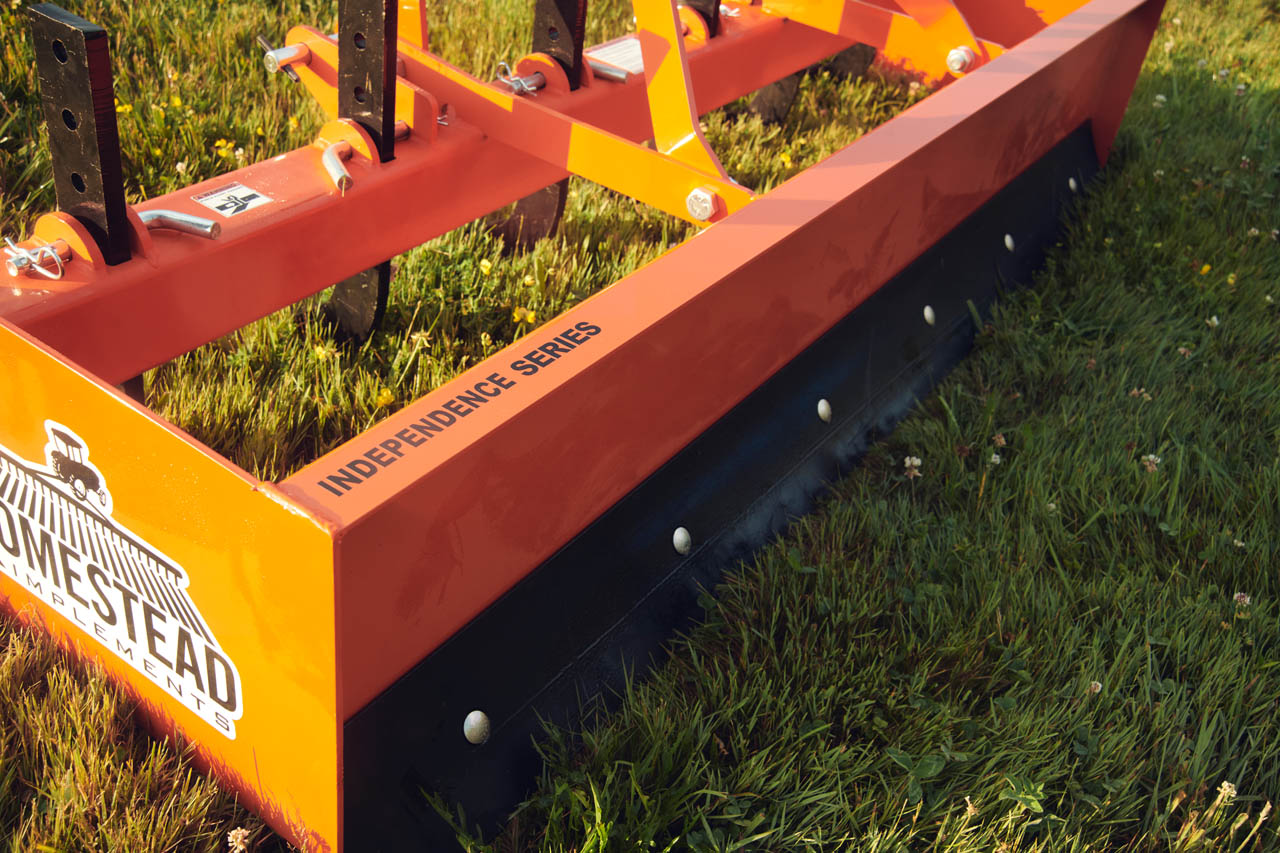 Rear view of Independence Series Box Blade Orange.
