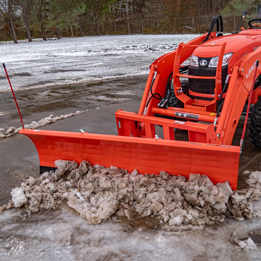 Manual Snow Plow, Maximum Cutting Width