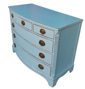 Federal Style Bowfront Dresser