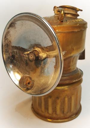 Antique Miners Lamp