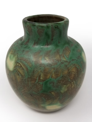 Peters and Red Landsun Antique Pottery Vase