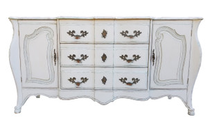 French Style Buffet in White