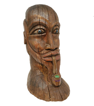 Americana Head Carving