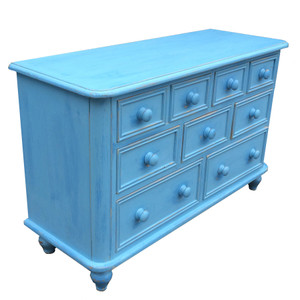 Country Blue Dresser