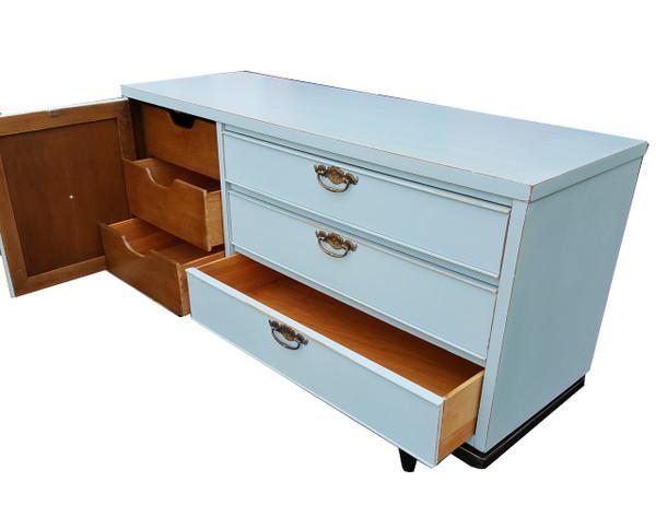 Modern Dresser in Pale Blue