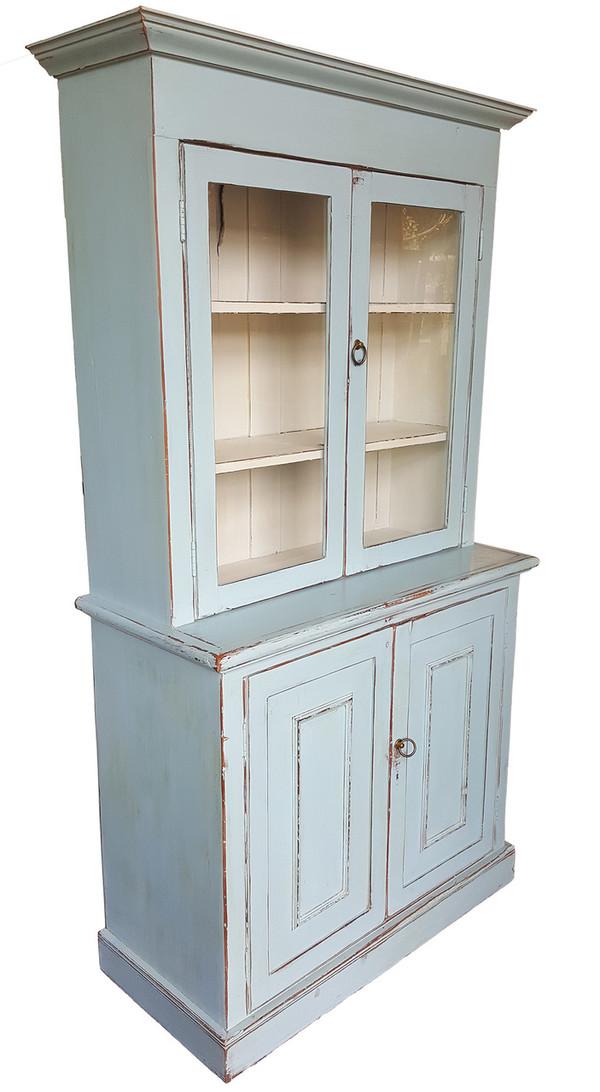 Antique Hutch in Pale Blue