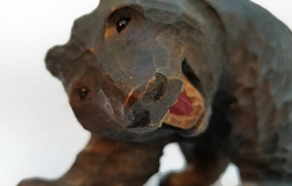 Black Forest bear face