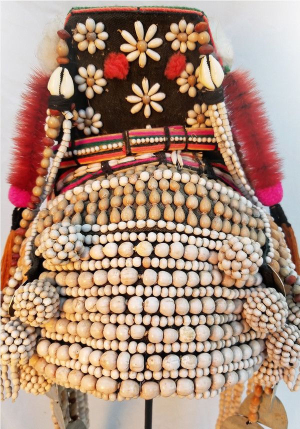 Akha Ceremonial Wedding Headress