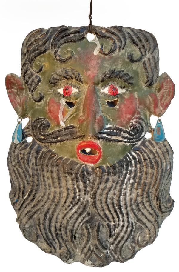 Guerrero copper Folk art Mask Main